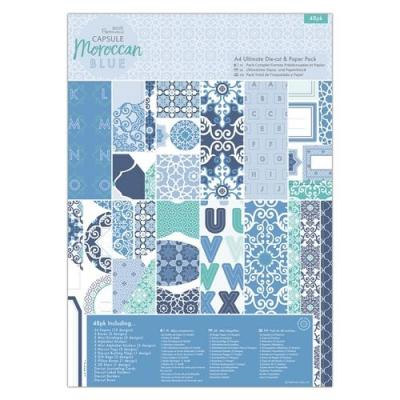 Capsule Collection Moroccan Blue - Stanz- und Papierblock